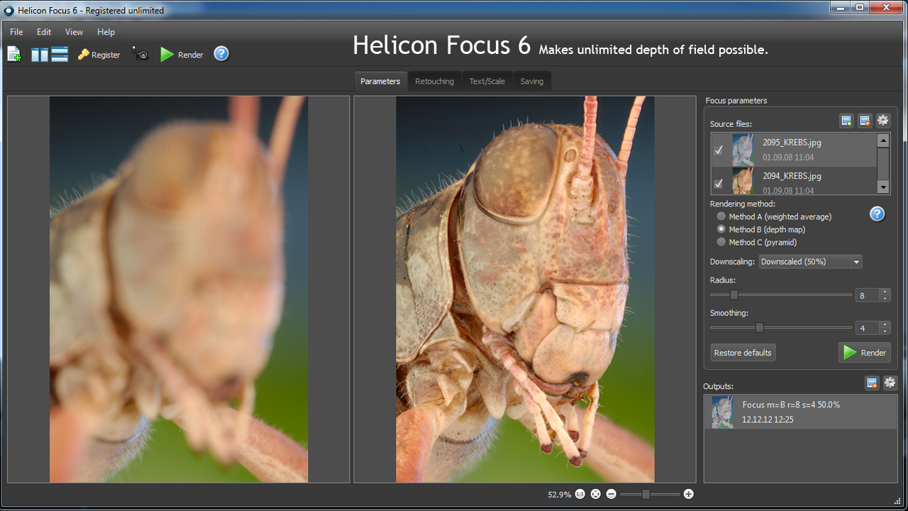 Helicon Focus 5.3.14 Crack